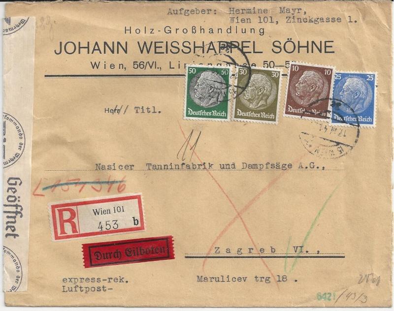 Österreich im III. Reich (Ostmark) Belege - Seite 5 Bild_339
