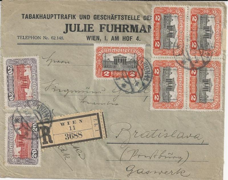 Inflation in Österreich - Belege - 1918 bis 1925 - Seite 3 Bild_411