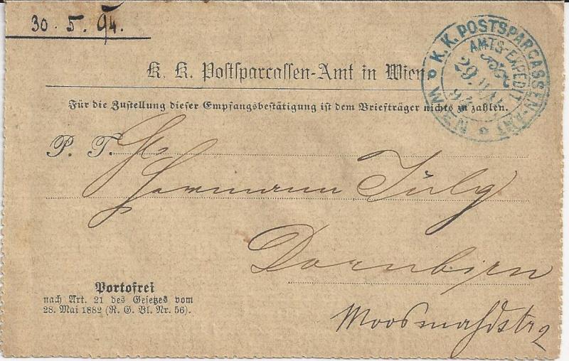 Briefe / Poststücke österreichischer Banken - Seite 2 Bild_420