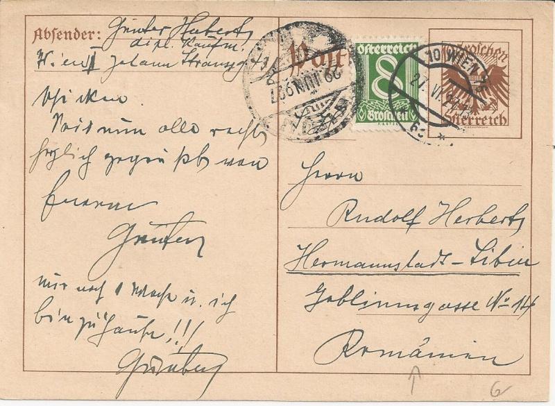 Bedarfspost Ganzsachen Österreich 1925-1938 Bild_425