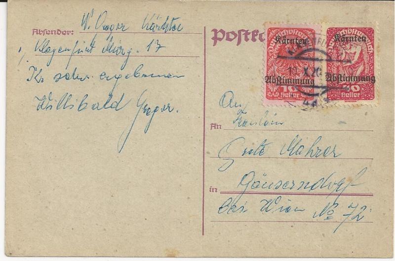 Inflation in Österreich - Belege - 1918 bis 1925 - Seite 3 Bild_430