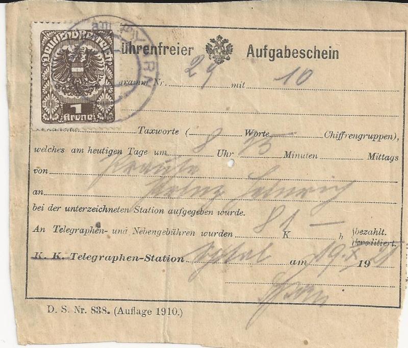 Inflation in Österreich - Belege - 1918 bis 1925 - Seite 3 Bild_433