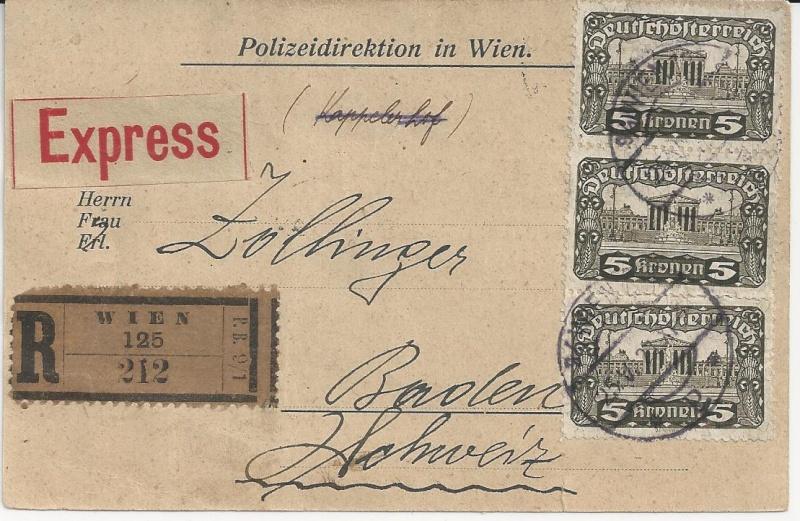Inflation in Österreich - Belege - 1918 bis 1925 - Seite 3 Bild_515