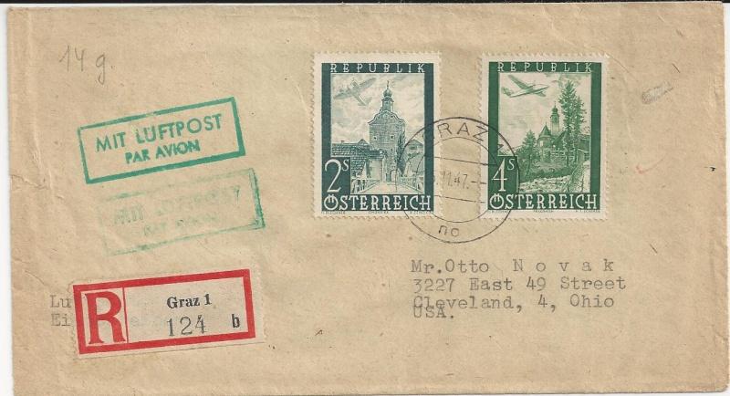 Flugpostausgabe 1947 Bild_518