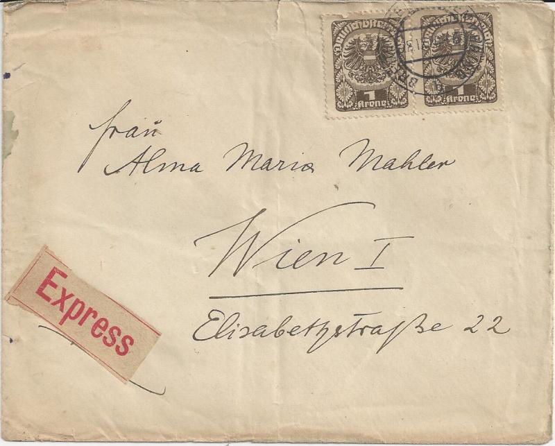 Briefe oder Karten von/an berühmte oder bekannte Personen Bild_520