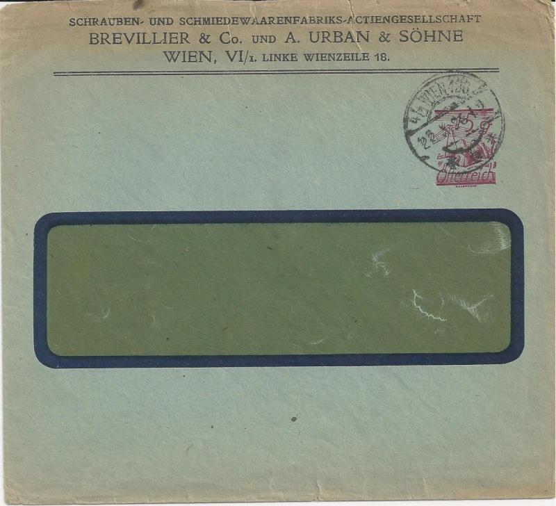 Bedarfspost Ganzsachen Österreich 1925-1938 Bild_527