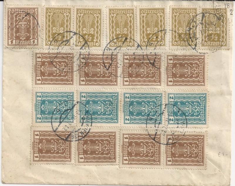Inflation in Österreich - Belege - 1918 bis 1925 - Seite 3 Bild_529
