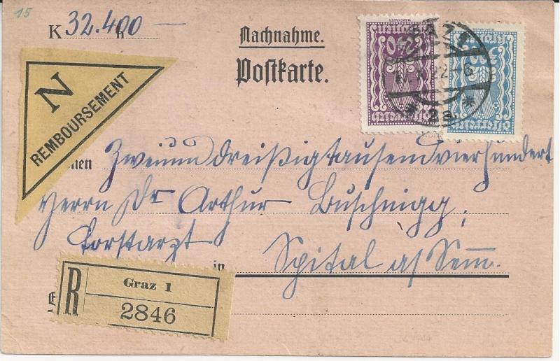 Inflation in Österreich - Belege - 1918 bis 1925 - Seite 3 Bild_614