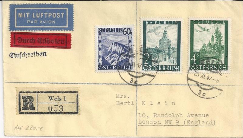 Flugpostausgabe 1947 Bild_616