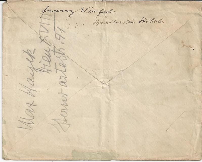 Briefe oder Karten von/an berühmte oder bekannte Personen Bild_618