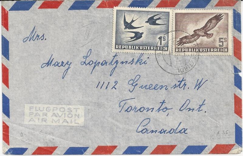 Sammlung Bedarfsbriefe Österreich ab 1945 - Seite 5 Bild_621