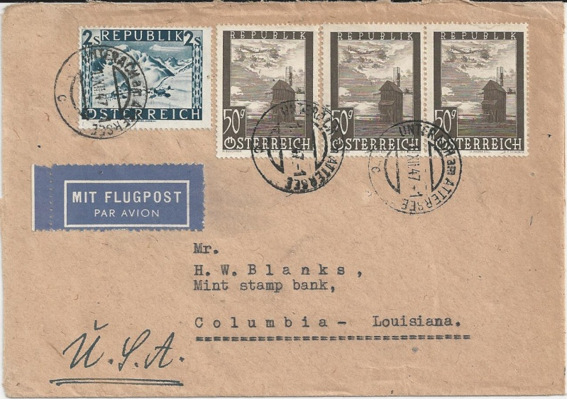 Flugpostausgabe 1947 Bild_714