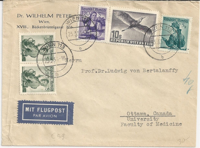 Sammlung Bedarfsbriefe Österreich ab 1945 - Seite 5 Bild_718