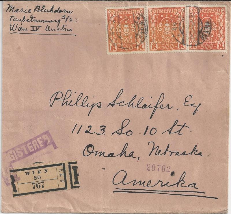 Inflation in Österreich - Belege - 1918 bis 1925 - Seite 3 Bild_720