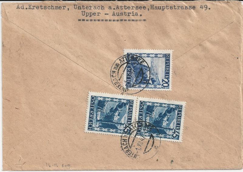 Flugpostausgabe 1947 Bild_812