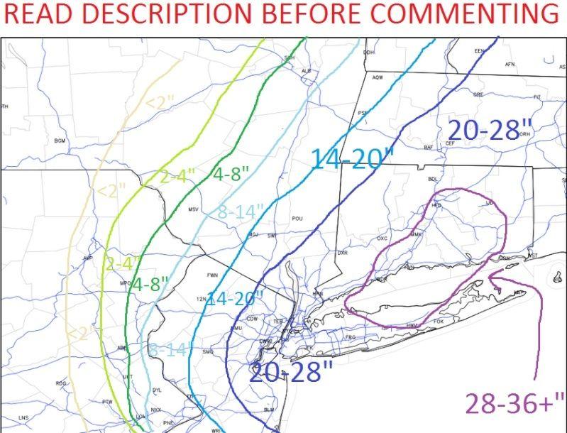 SNOW MAPS ONLY:  MON JAN 26TH - JAN 27TH Snowma10