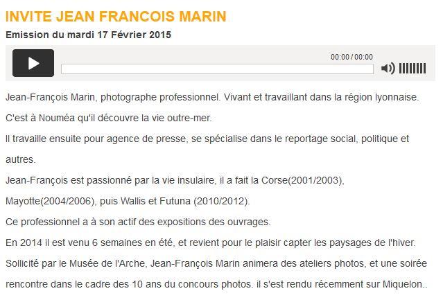 Rencontre avec le photographe Jean-Francois MARIN 2331