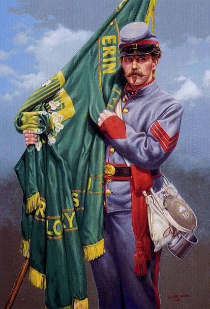 Le buste du 10th Tennessee Irish Brigade  - mise à jour du 7/04  par Gabriel FINI 34079710