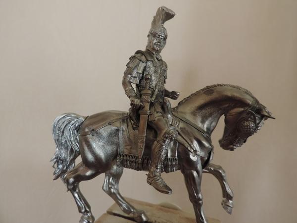 """Cavalier Romain """"Decurio Equitum """" le cavalier presque terminé!! Dscn1117"""