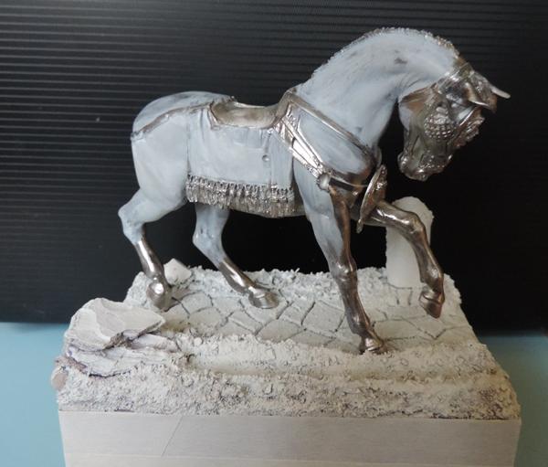 """Cavalier Romain """"Decurio Equitum """" le cavalier presque terminé!! Dscn1224"""