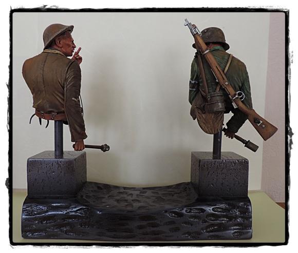 Buste de nettoyeurs de tranchés Allemand, Anglais, Remerciements Dscn1235