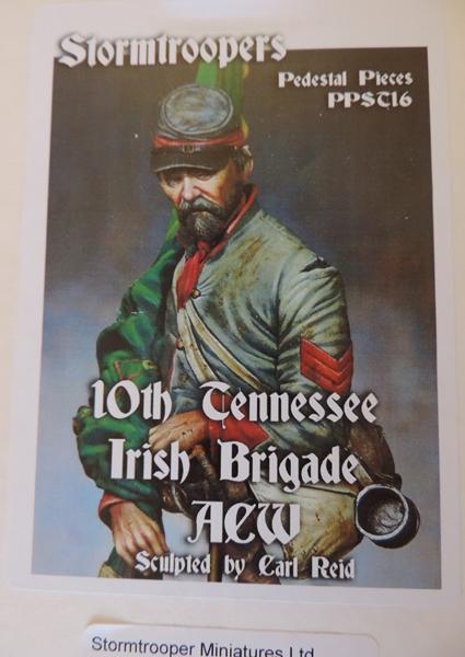 Le buste du 10th Tennessee Irish Brigade  - mise à jour du 7/04  par Gabriel FINI Dscn1353