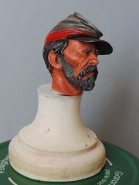 Le buste du 10th Tennessee Irish Brigade  - mise à jour du 7/04  par Gabriel FINI Dscn1355