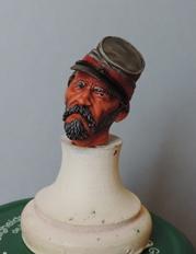 Le buste du 10th Tennessee Irish Brigade  - mise à jour du 7/04  par Gabriel FINI Dscn1356