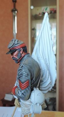 Le buste du 10th Tennessee Irish Brigade  - mise à jour du 7/04  par Gabriel FINI - Page 3 Dscn1367