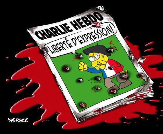 Hommage à Charlie Hebdo et des Policiers 10922410