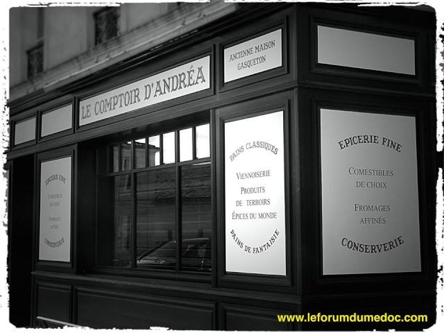 Au Comptoir d'Andréa à Bages 19691210