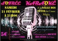 Soirée Karaoké le 21 Février 2015 à Cissac Médoc C2ec4b10