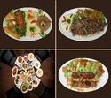 ENTREES FROIDES salades composées et hors-d'oeuvres (divers)