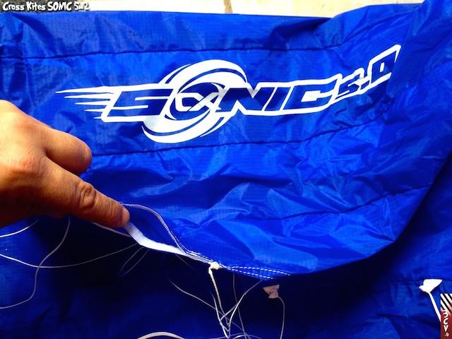 Essai Cross Kites Sonic 5m 310