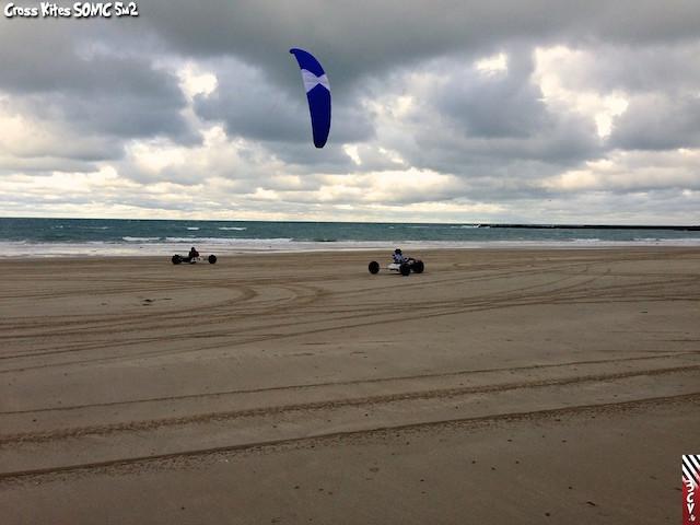 Essai Cross Kites Sonic 5m 910