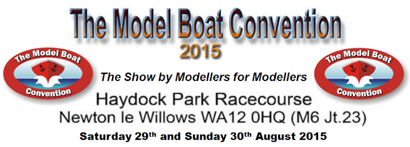 The Model Boat Convention - Haydock park- 29,30 August - AMS stand Conven10