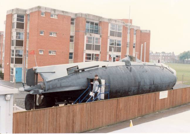 HM Submarine No 1 (The Holland) - Re-visited Hollan10