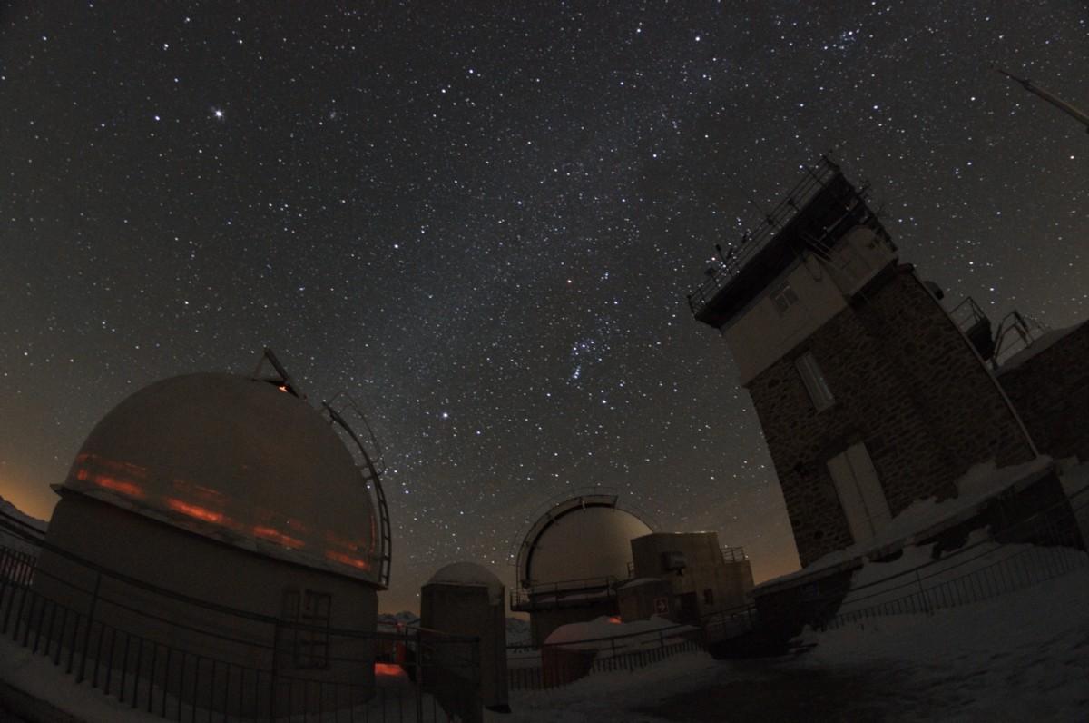 Ciel noir et pollution lumineuse au Pic du Midi Jacque13