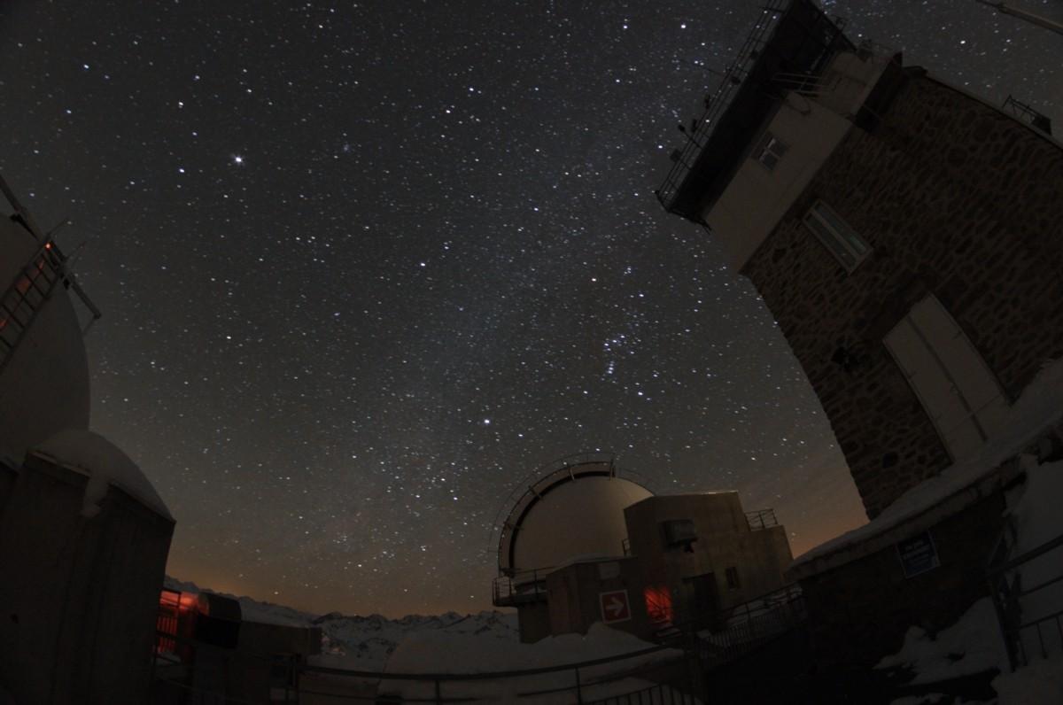 Ciel noir et pollution lumineuse au Pic du Midi Jacque17
