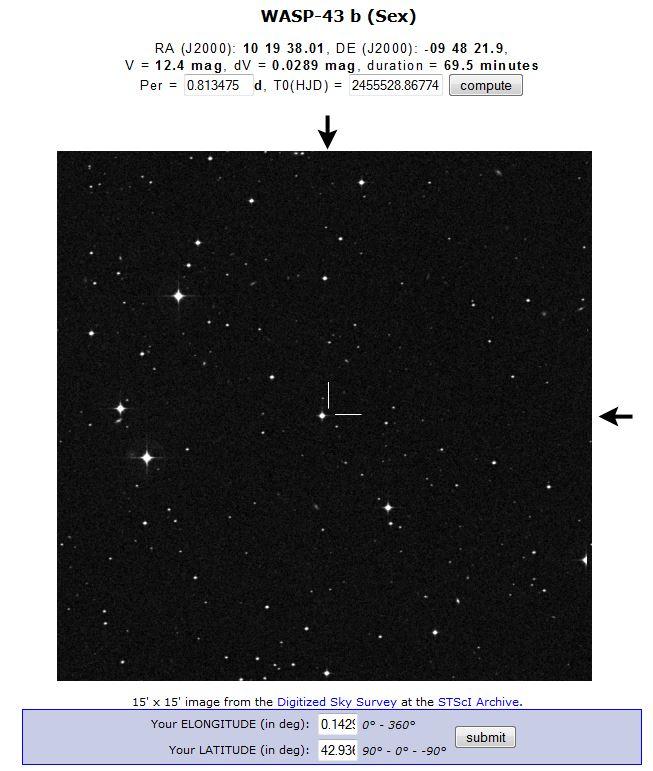 Transit de l'exoplanète WASP-43-b au T60, Pic du Midi W43bst10
