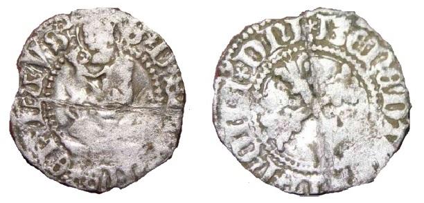 Evêché de Lausanne - Trésel Georges de Saluces. Trysel11
