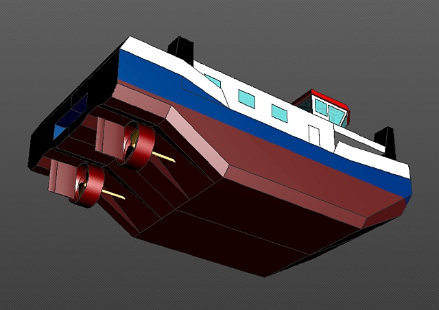 Bau eines Schubschiffes in RC 03_sch10