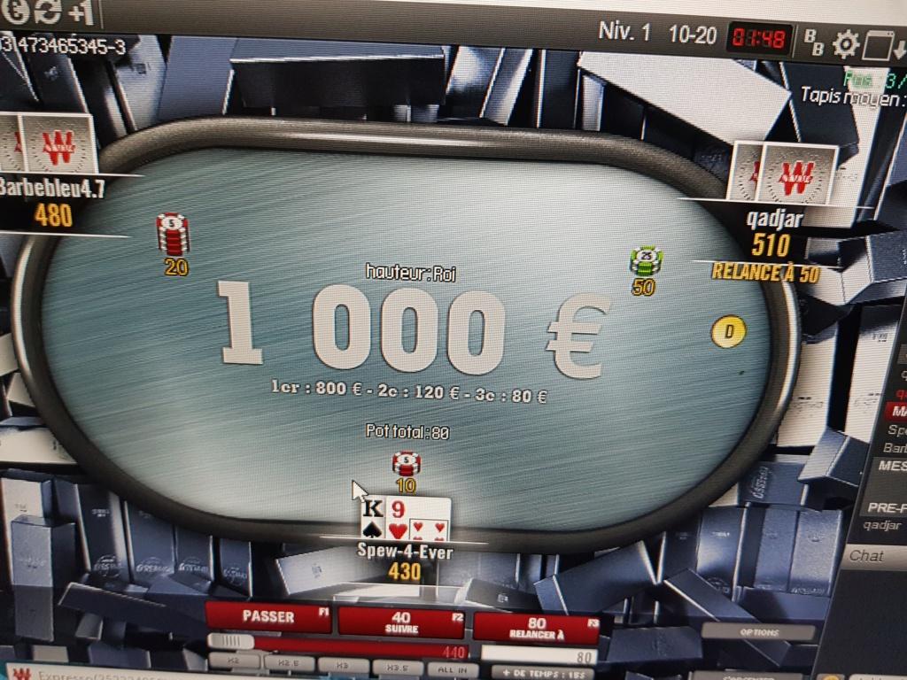Vos plus gros jackpots en expresso  20181013