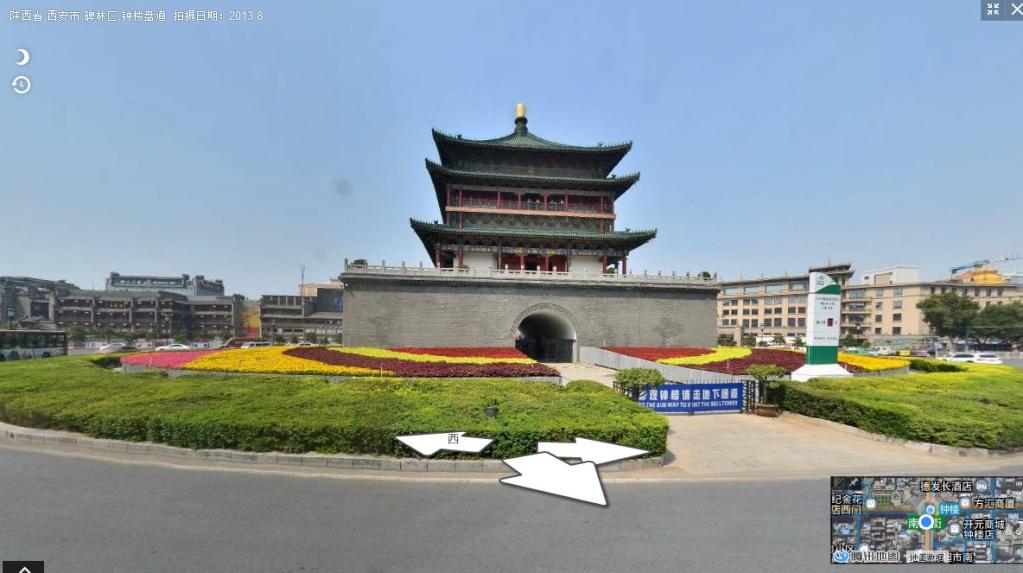 La tour du Tambour - Xian - Chine 2015-040
