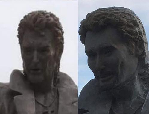 (Bientôt visible dans GE) Les statues de Johnny Halliday. 2018-129