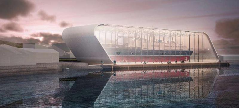 """""""Bientôt viible dans G.E"""".: En Norvège, un musée accueillera une vrai bateau, grandeur nature! 2019-011"""