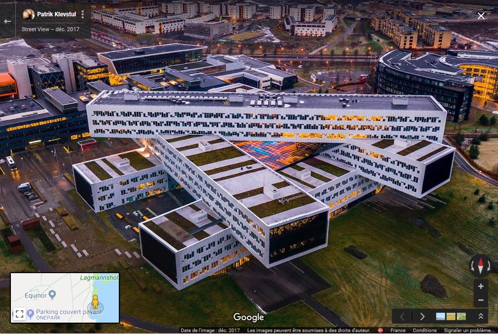 Les bureaux d'Equinor à Fornebu - Norvège 2019-024