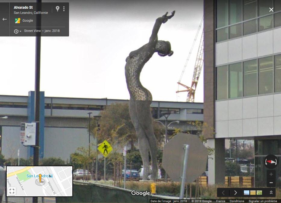 Sculpture Bliss Dance (Marco Cochrane) à San Francisco - USA 2019-036