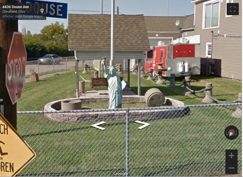 Statue de la Liberté = les répliques découvertes grâce à Google Earth - Page 6 2019-038
