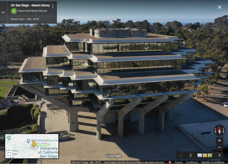 Geisel Library - La Jolla, San Diégo - Californie - USA 2019-050